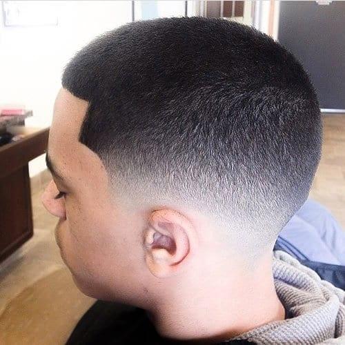 Short hairstyles for black men