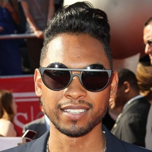 Pompadour hairstyles for black men
