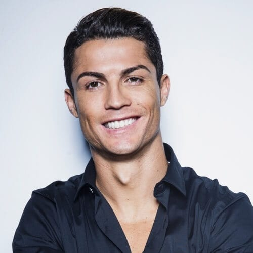 Casual Cristiano Ronaldo Hairstyles