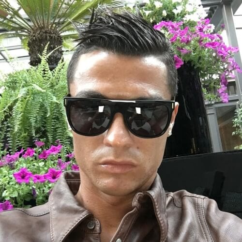 High and Tight Cristiano Ronaldo Hairstyles