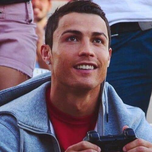 Short Cristiano Ronaldo Hairstyles