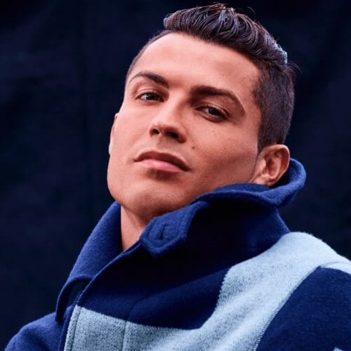Swept Up Cristiano Ronaldo Hairstyles
