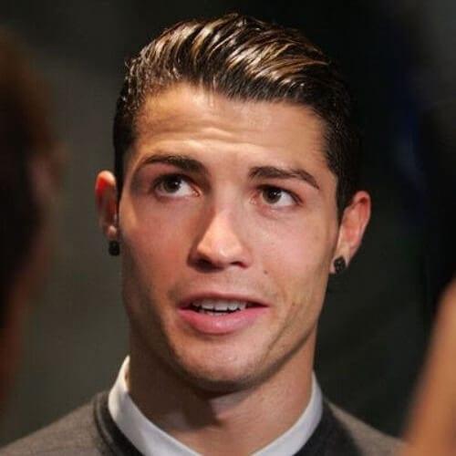 Ronaldo Wet Hairstyles
