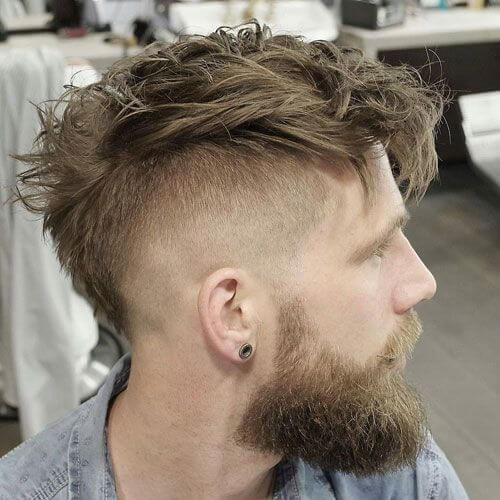 Layered Mohawk Hairstyles