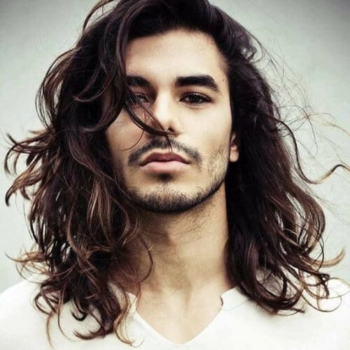 Long Hairstyles for Teenage Guys