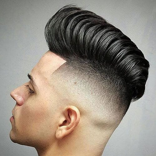 Pompadour Hairstyles for Teenage Guys
