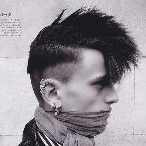 Punk Hairstyles for Medium Length Hair