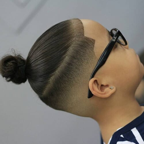 Teen Man Bun Hairstyles