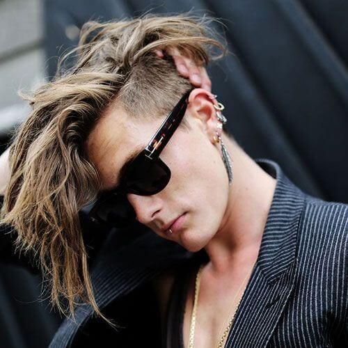 Undercut Punk Hairstyles for Guys