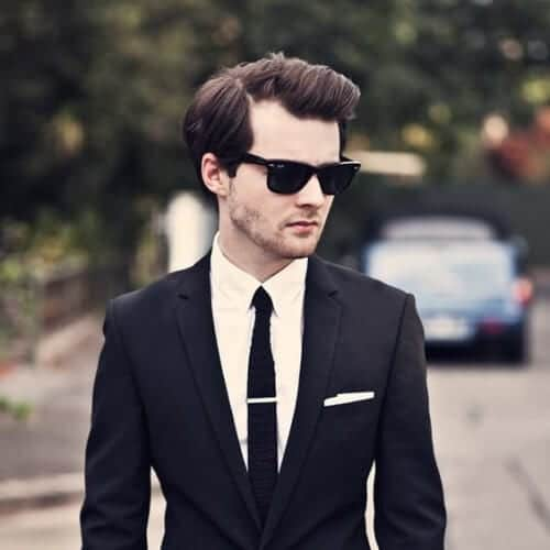 receding hairline business hairstyles