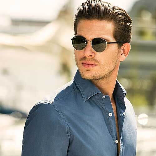 slick back business hairstyles
