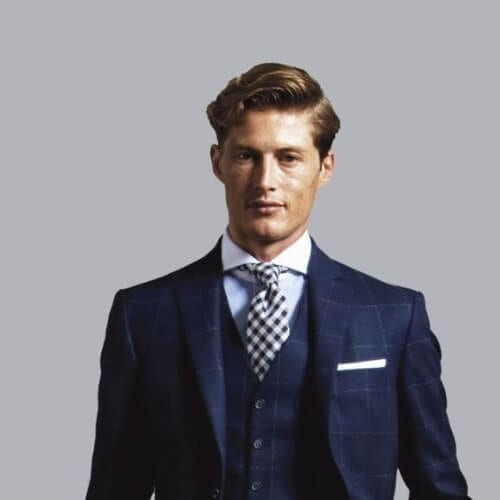 wavy business hairstyles