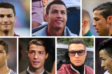 Cristiano Ronaldo Hairstyles To Wear Yourself