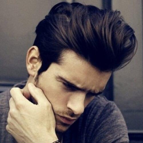 Modern Pompadour Haircut