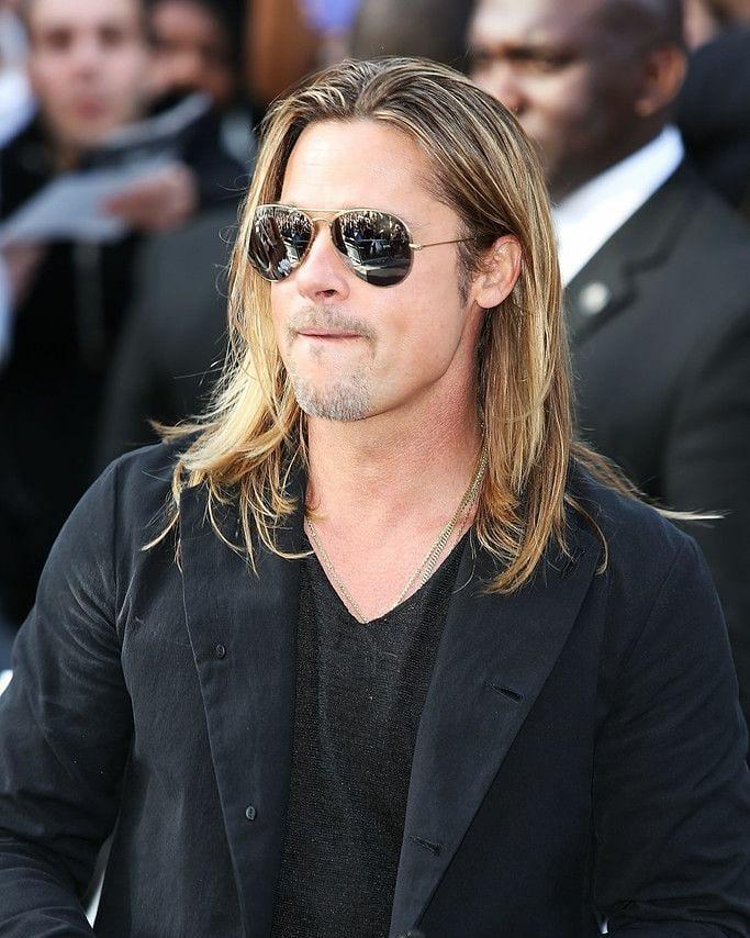 Iconic Brad Pitt's Blonde Shag