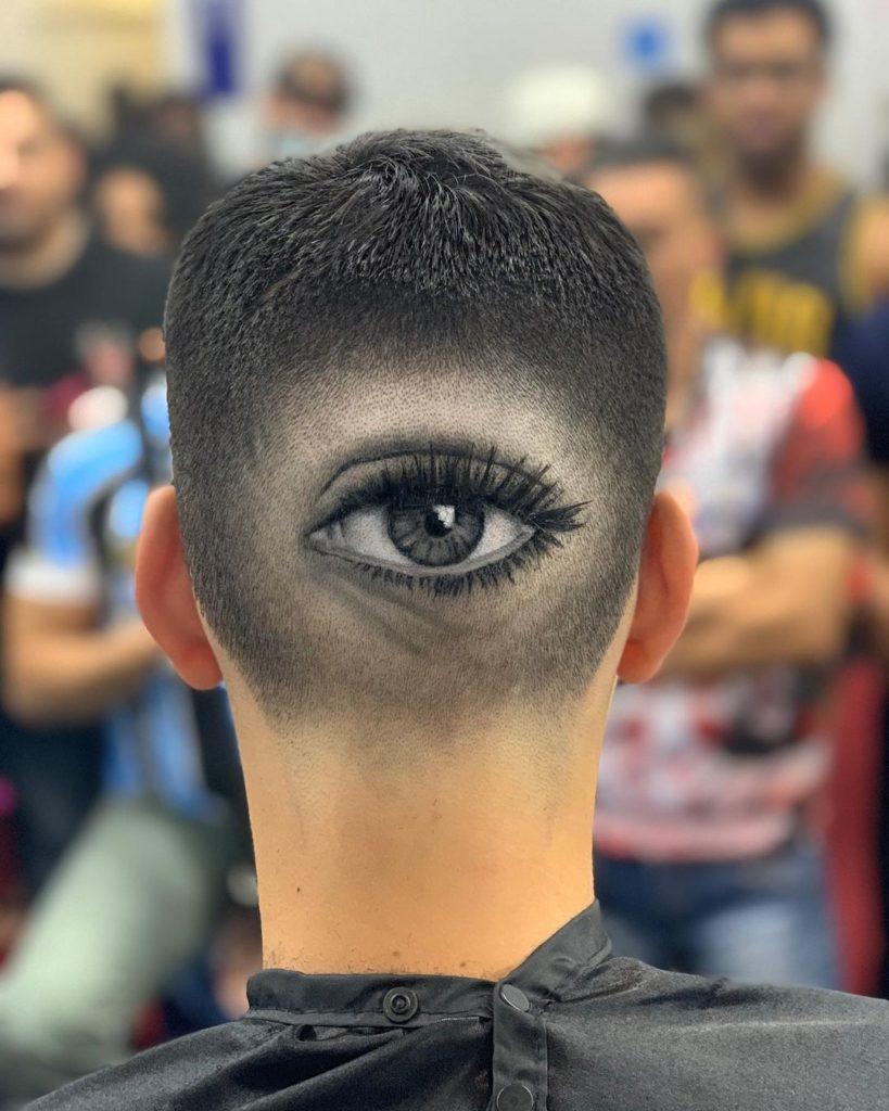 artsy hair designs