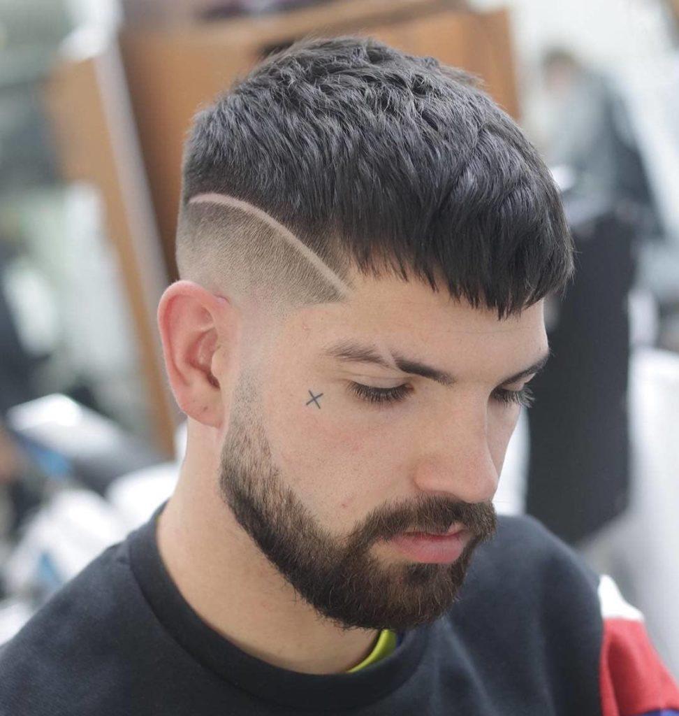 crop top hair designs