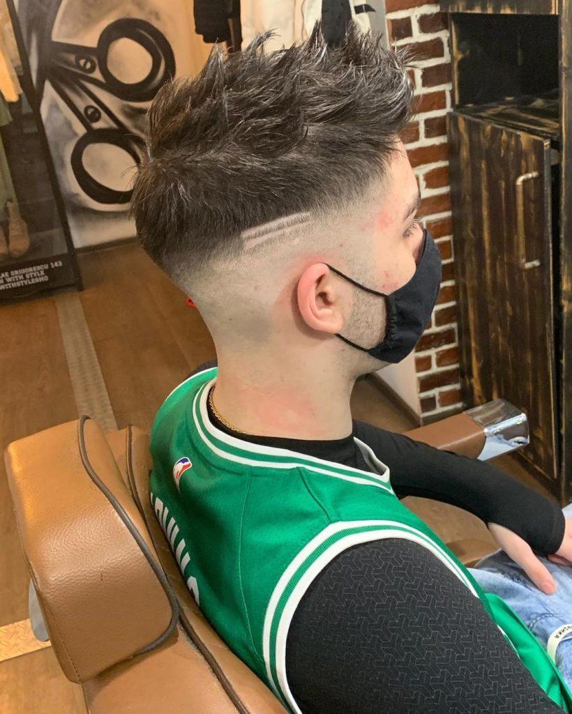 blowout hair designs