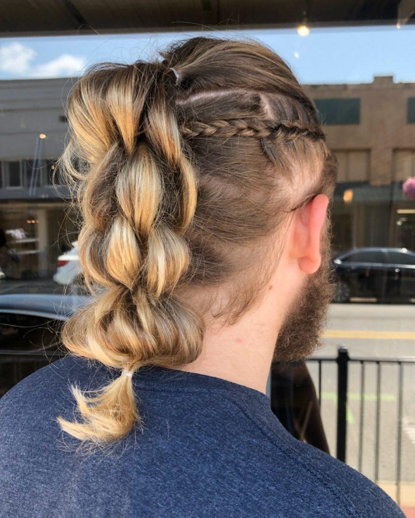 unique medium long hairstyles for men