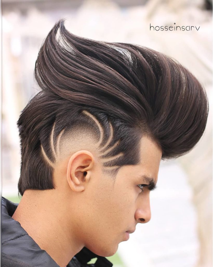 halloween hair designs