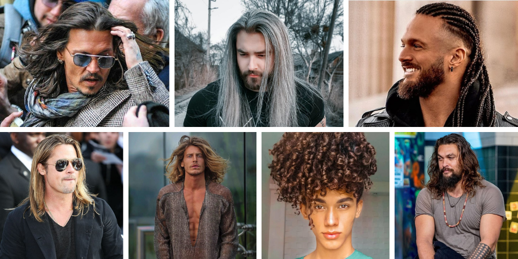 Inspirational Long Hairstyles For Men