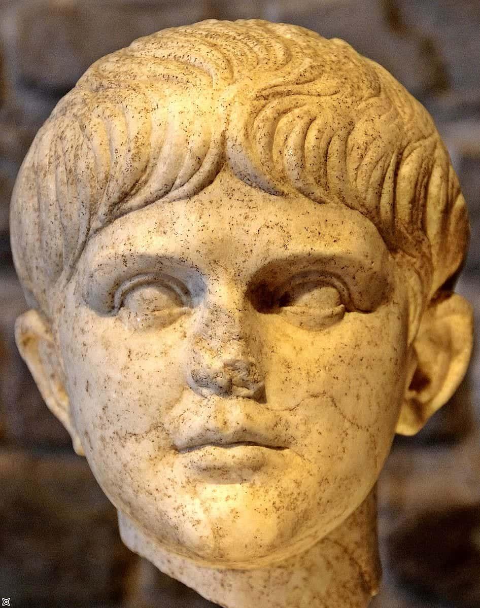 statue of Emperor Nero